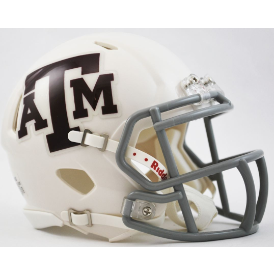 Riddell Texas A&M Aggies White Revo Speed Mini Helmet