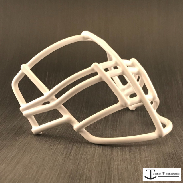 Throwback 80's Era NJOP-DW Metal Mini Helmet Facemask