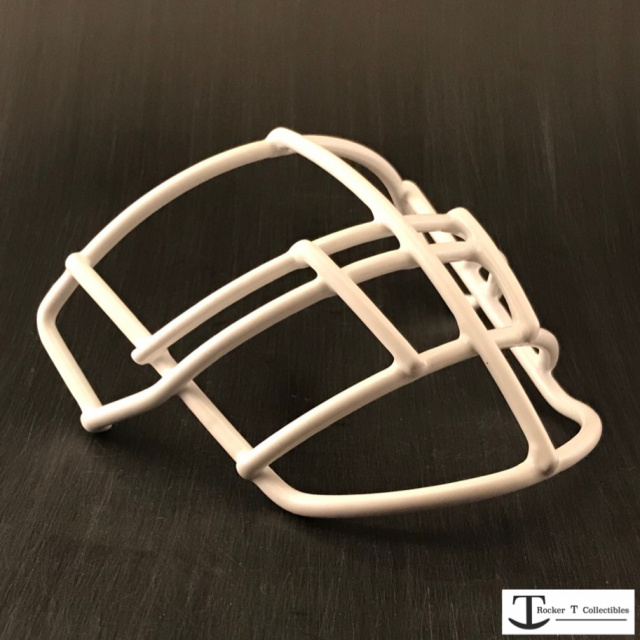 Throwback 70's Era NJOP-DW Metal Mini Helmet Facemask