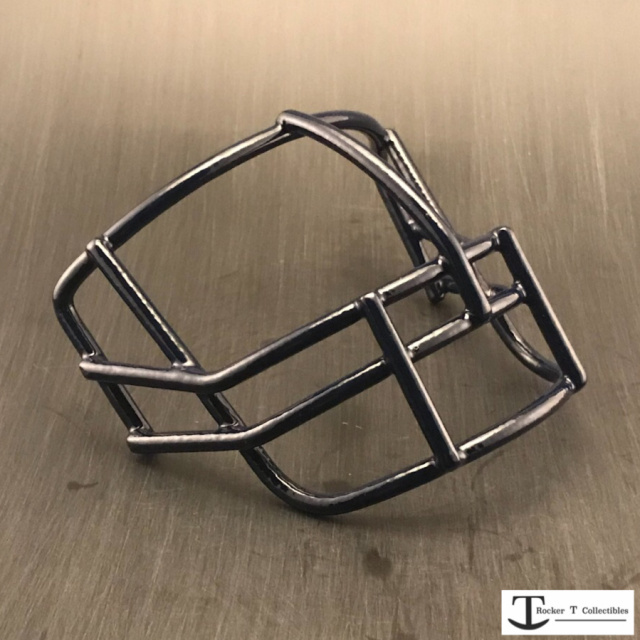 Throwback USFL NOPO Metal Mini Helmet Facemask