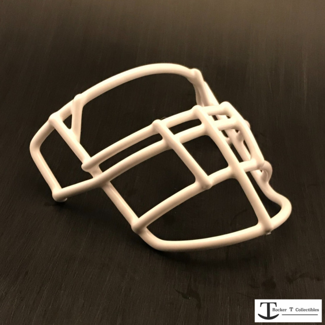Throwback 70's Era JOP-DW-XL Metal Mini Helmet Facemask