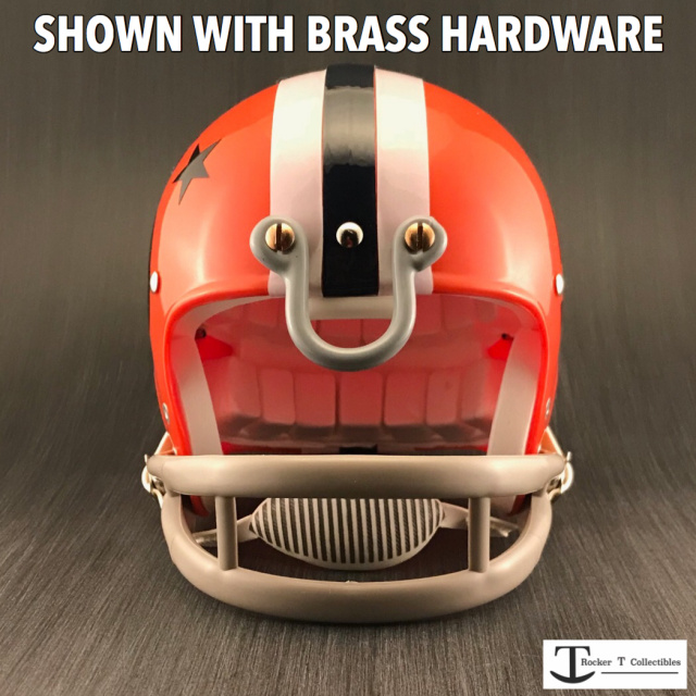Throwback U-Bar Metal Mini Helmet Facemask