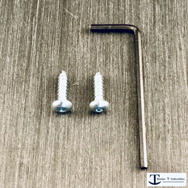 Rocker T Custom Riddell-Style Quick Release Kit Facemask Clip Hardware