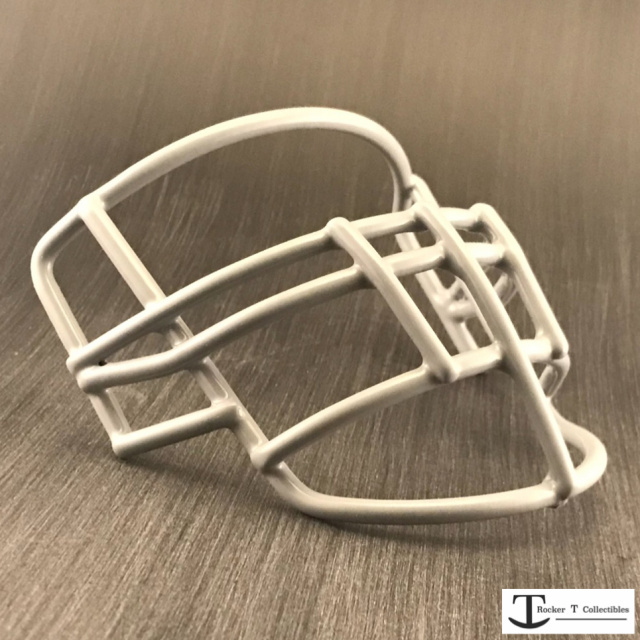 Throwback 80's Era JOP-DW Metal Mini Helmet Facemask