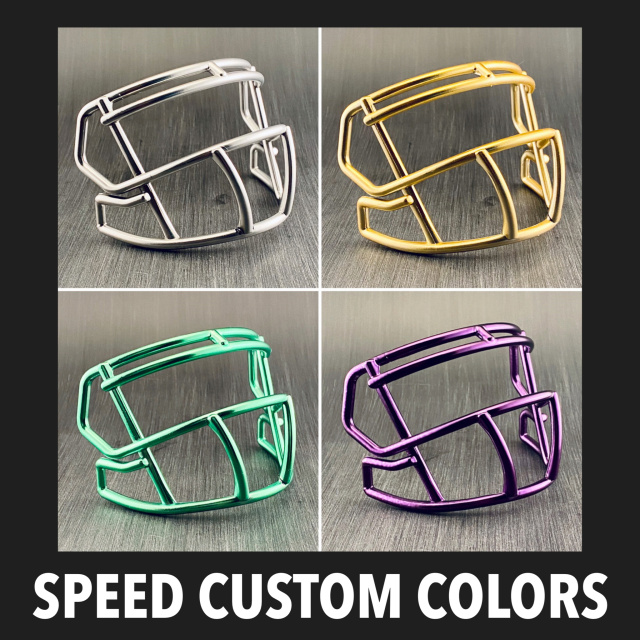 Riddell Speed S2BD Plastic Mini Helmet Facemask(Custom Colors)