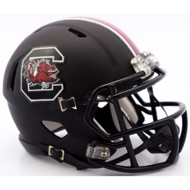 Riddell South Carolina Gamecocks Matte Black Speed Mini Helmet