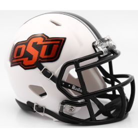 Riddell Oklahoma State Cowboys 2016 White Speed Mini Helmet