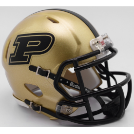 Riddell Purdue Boilermakers 2017 Speed Mini Helmet