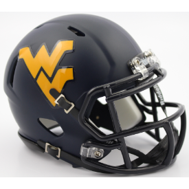 Riddell West Virginia Mountaineers Speed Mini Helmet