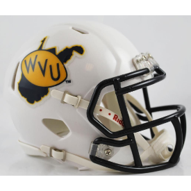 Riddell West Virginia Mountaineers 2013 Speed Mini Helmet