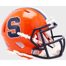 Riddell Syracuse Orangemen 2019 Speed Mini Helmet