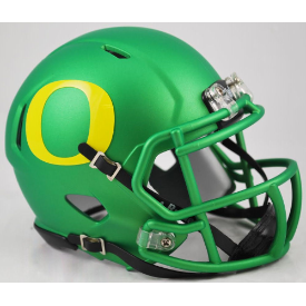 Riddell Oregon Ducks Apple Green Revo Speed Mini Helmet
