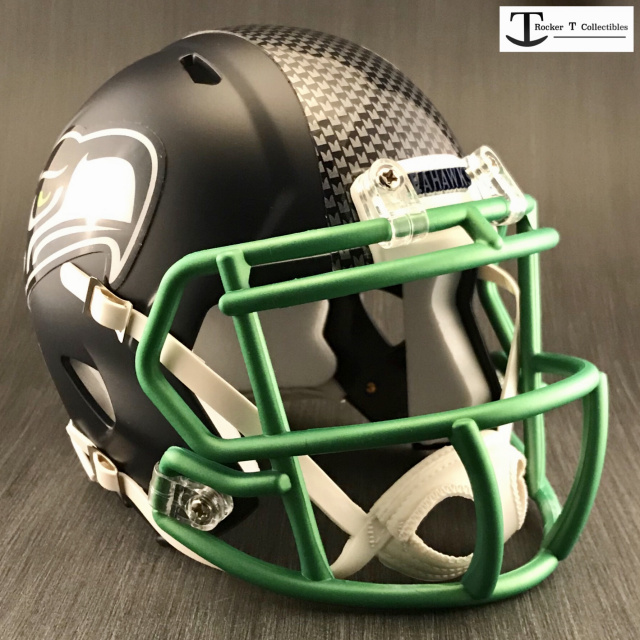 Seattle Seahawks Custom Speed Mini Helmet