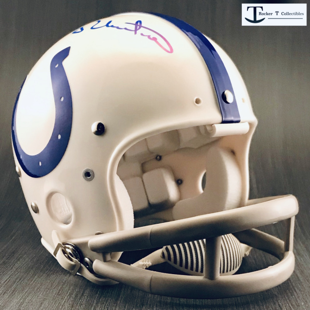 Autographed Johnny Unitas Baltimore Colts