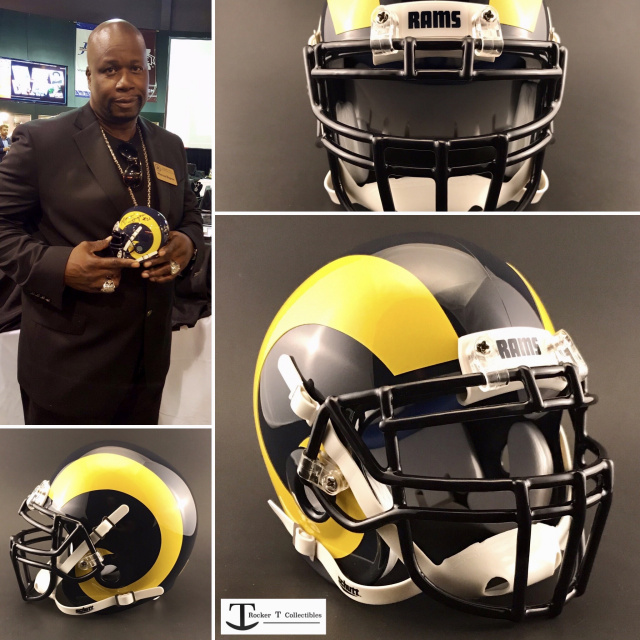 Marcus Dupree Los Angeles Rams Mini Helmet