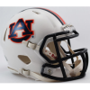 Riddell Auburn Tigers 2016 Chrome Decal Revo Speed Mini Helmet