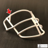 Throwback 70's Era JOP-SW-XL Metal Mini Helmet Facemask