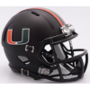 "Riddell Miami Hurricanes ""Miami Nights"" Speed Mini Helmet"