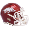Riddell Arkansas Razorbacks 2018 Gloss Revo Speed Mini Helmet